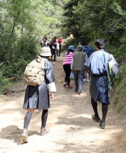 hiking trip to bhutan