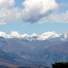 Mountains in Bhutan